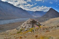 Free The Key Monastery,a Tibetan Buddhist Monastery Located In India Royalty Free Stock Image - 111370036