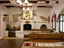 Free The Kitchen In The Old Slavic Style Stock Photography - 22263762