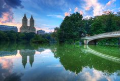 Free The Lake In Central Park New York City Royalty Free Stock Image - 26668466