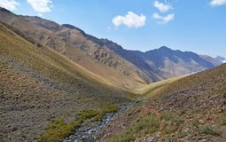 Free The Landscape Of Alborz Mountains , Iran Stock Photography - 160709502