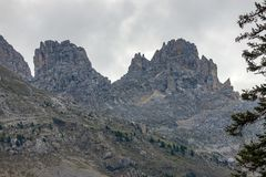 Free The Latemar, A Famous Mountain In The Dolomites, South Tyrol, Trentino, Italy Stock Image - 127267681
