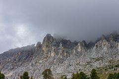 Free The Latemar, A Famous Mountain In The Dolomites, South Tyrol, Trentino, Italy Stock Photography - 127267992