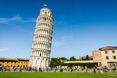 Free The Leaning Tower Of Pisa Royalty Free Stock Images - 100910969