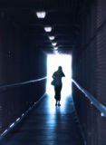 The Light At The End Of The Tunnel Stock Photography
