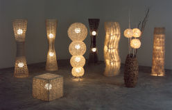 The Lighten Floor Lamps Stock Photos