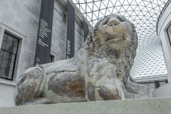 Free The Lion Of Knidos In The British Museum Royalty Free Stock Photography - 74211247