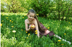 Free The Little Girl Stock Photo - 20906880