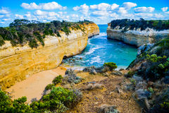 The Loch Ard Gorge Lookout In Great Ocean Road Australia3 Stock Image