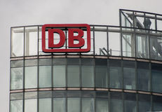 The Logo Of The German Logistics Company DB Deutsche Bahn Royalty Free Stock Image
