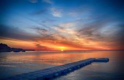 The Magic Of A Beautiful Sunrise! Royalty Free Stock Image