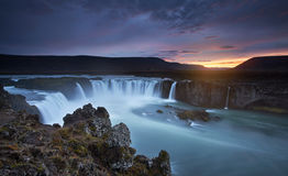 The Magnificent Of Godafoss Stock Images