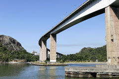 The Main Bridge In Vitoria In Espirito Santo Stock Photos