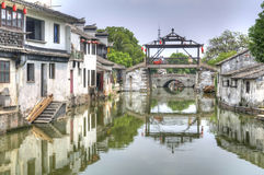 The Main Bridge Of Tongli, China