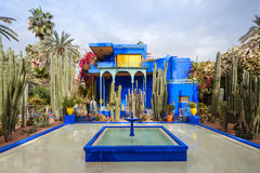The Majorelle Garden Stock Images