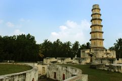 Free The Manora Fort Tower With Entrance Path. Stock Image - 109452251
