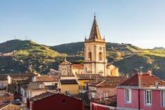 Free The Medieval Hill Town Of Francavilla Di Sicilia Stock Image - 171057501