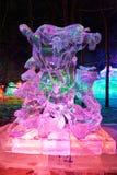 The Medusa Ice-lantern Festival Stock Photo
