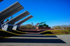 The Memorial Complex Katyusha Royalty Free Stock Photo