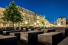 The Memorial Of The Murdered Jews In Europe Also Known As The Ho Royalty Free Stock Images