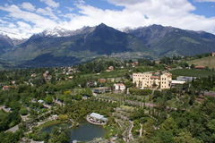 The Merano Country Royalty Free Stock Image