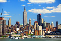 Free The Mid-town Manhattan Skyline Stock Image - 5258101