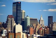 Free The Mid-town Manhattan Skyline Royalty Free Stock Photo - 5258115