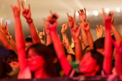 The MIDI Music Festival In China Stock Photo