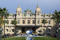 The Monte Carlo Casino Stock Photo