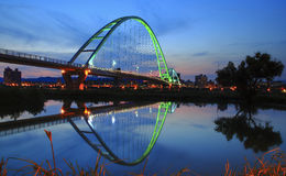 Free The Moon Bridge In The Evening. Stock Photography - 42773472