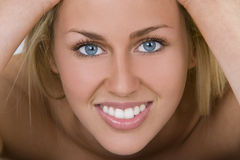 The Most Beautiful Smile Stock Photo