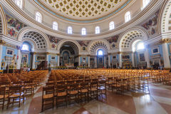 The Mosta Dome Royalty Free Stock Photo