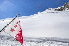 Free The Mountain Range In Saas Fee, Switzerland Royalty Free Stock Photos - 105597578