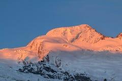 Free The Mountain Range In Saas Fee, Switzerland Stock Image - 105874481