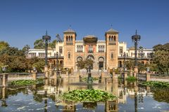 Free The Museum Of Arts And Traditions Of Seville Royalty Free Stock Photo - 101021765