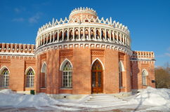 The Museum-reserve `Tsaritsyno`, Moscow, Russia Royalty Free Stock Image