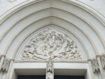 The National Cathedral Portal Royalty Free Stock Photography