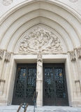 The National Cathedral Portal Stock Photography