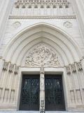 The National Cathedral Portal Royalty Free Stock Images