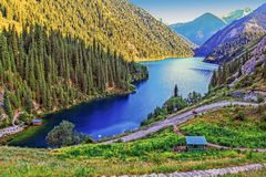 Free The National Nature Park Is The Kolsay Lake. Near Almaty. Kazakhstan Stock Photos - 106327333