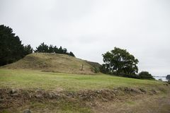 Free The Neolithic Cairn Of Gavrinis 3500 BC In Bretagne Royalty Free Stock Photo - 163833885