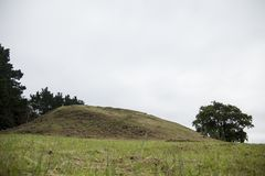 Free The Neolithic Cairn Of Gavrinis 3500 BC In Bretagne Royalty Free Stock Images - 163834969