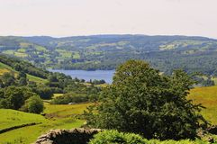 The North Corner Of Lake Windermere. Stock Image