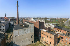 Free The Old, Destroyed And Abandoned Factory Royalty Free Stock Images - 42299499