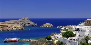 Free The Old Greek Town Of Lindos Stock Photo - 10317600