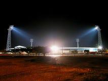 The Old Greenpoint Stadium At Night.