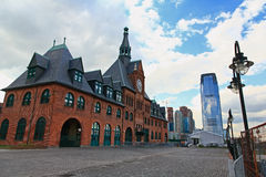 Free The Old Immigration Train Station Royalty Free Stock Photography - 5518197