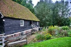 The Old Mill And The Garden Royalty Free Stock Images