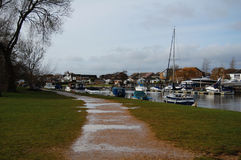 Free The Old Quayside At Christchurch, Dorset, UK Royalty Free Stock Photos - 96078838