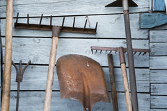 Free The Old Rusty Tradition Tools Royalty Free Stock Photos - 82285948