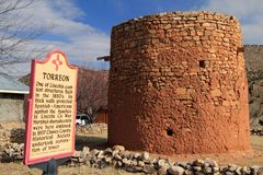 Free The Old Torreon In Lincoln, New Mexico Stock Photography - 148888522